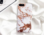 Θήκη Marble White / Gold - iPhone 7 / 8
